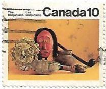 Selo Artefatos dos Iroqueses