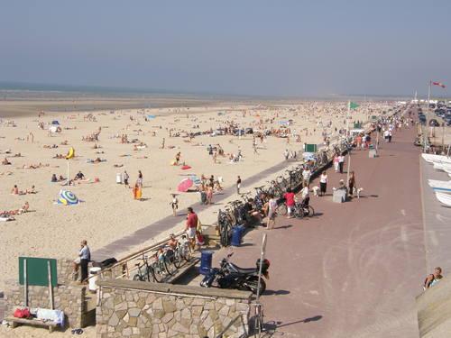 Praia Le Touquet-Paris-Plage próxima a Paris