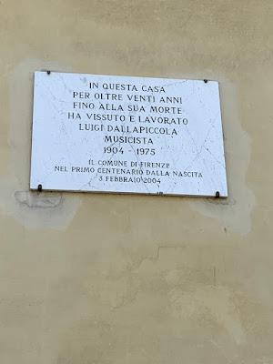 Targa Luigi Dallapiccola Firenze