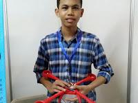 Hebat! Lulusan SMK ini Ciptakan Drone Tanpa Baling-baling Pertama di Dunia