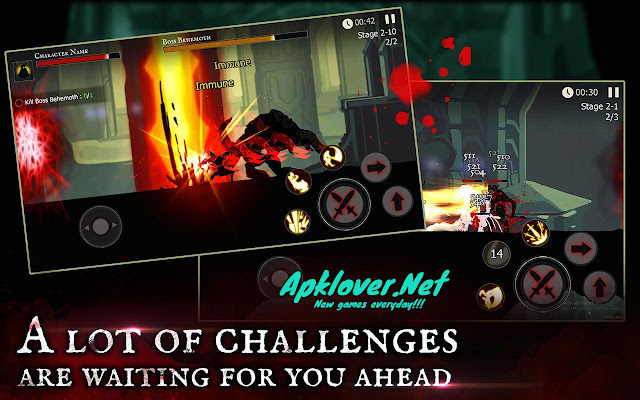Shadow of Death Dark Knight MOD APK unlimited money