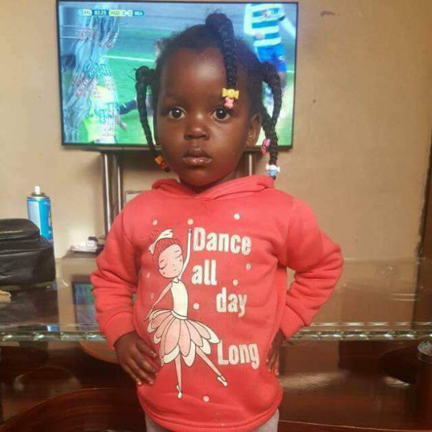 Zambian Footballer's Daughter Who Died Same Day He Was