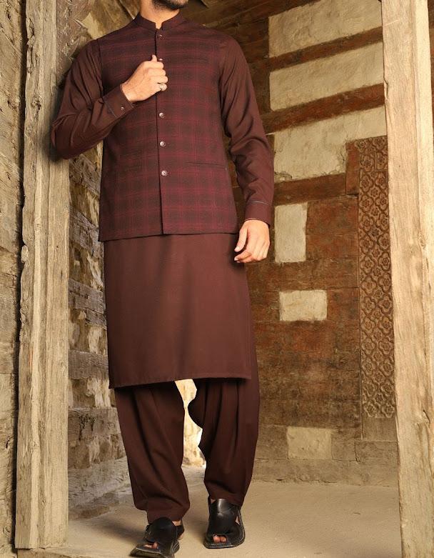J. Junaid Jamshed winter waistcoat collection for men
