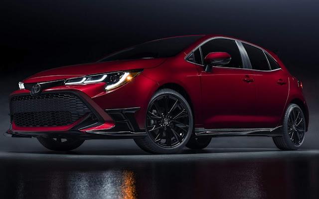 Toyota Corolla Hatchback 2021 ganha versão enfeitada - EUA