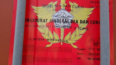 Segel Merah Bea Cukai Indonesia