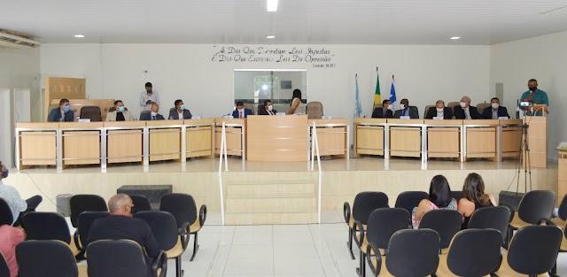 SENTO-SÉ: CÂMARA DE VEREADORES REALIZA ABERTURA DOS TRABALHOS DO ANO DE 2021