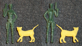 Contribution; Donations; How They Come In; Job Lot; Mixed Lot; Mixed Playthings; Mixed Toys; Recent Purchases; Show Plunder; Show Reports; Small Scale World; smallscaleworld.blogspot.com; 6 How They Come In Battle babe Yellow Cat 1