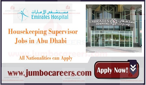 Urgent UAE house keeping Jobs, Current Housekeeping Jobs in Abu Dhabi,