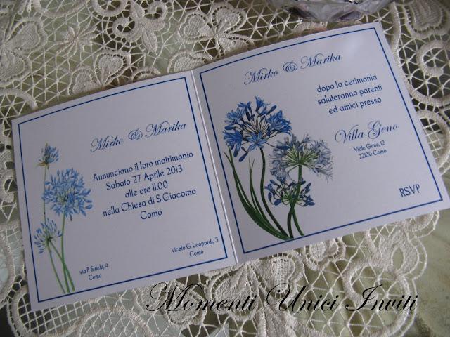 floral6 Partecipazioni card linea florealeLinea Floreale