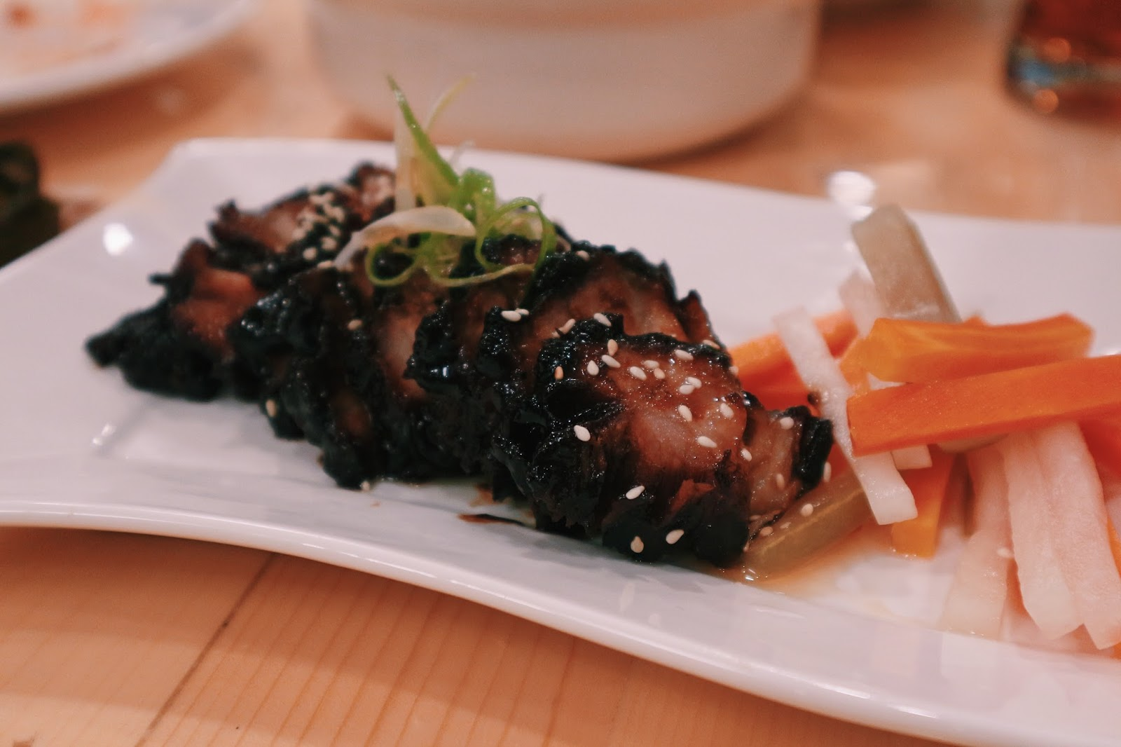 Flavors of Asia Davao - Sticky Pork Riblets with Lychee