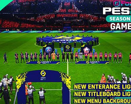 PES 2017 Mod Entrances Ligue 1 2020/2021