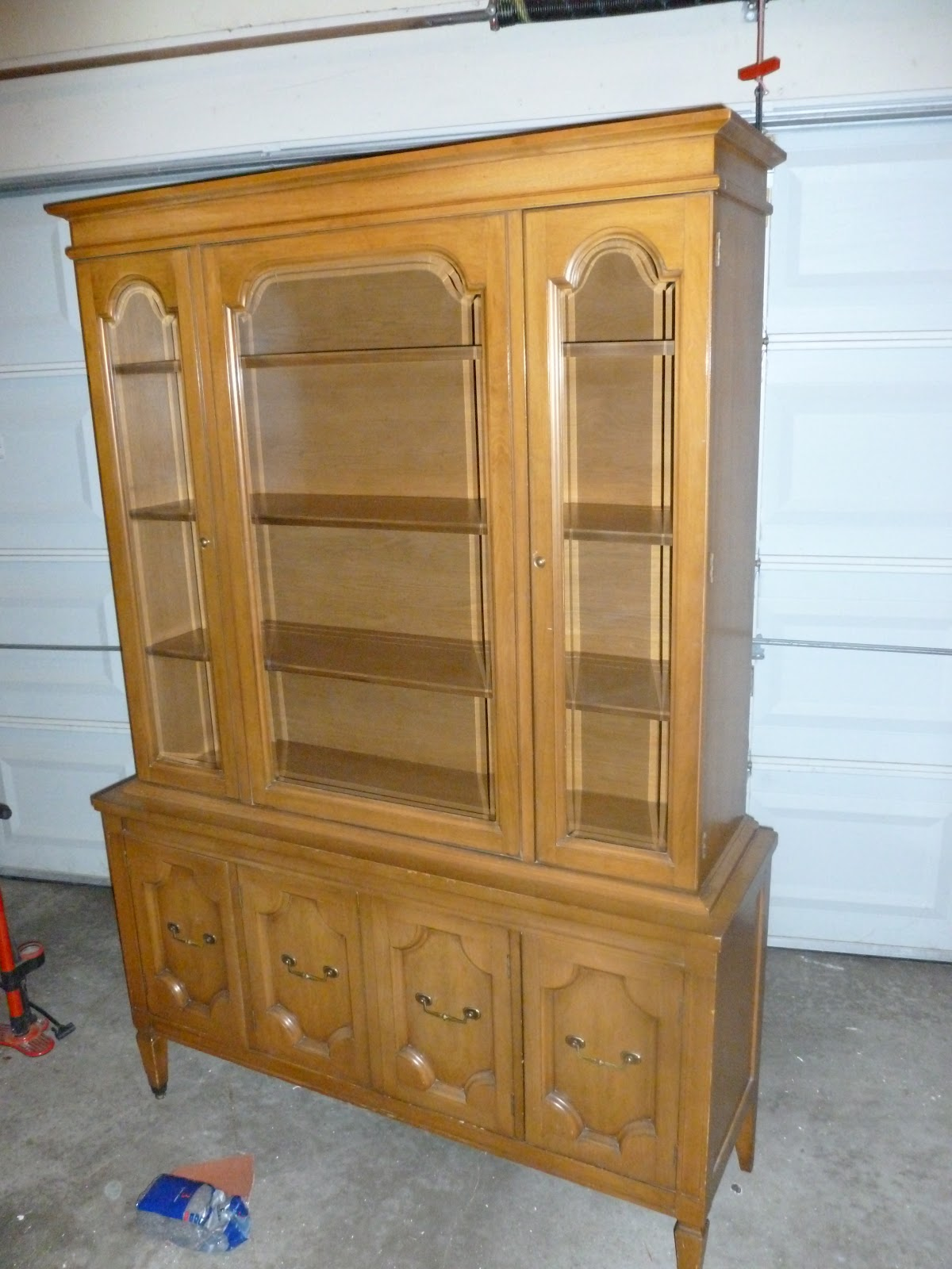 Gray China Cabinet By Rob Megan