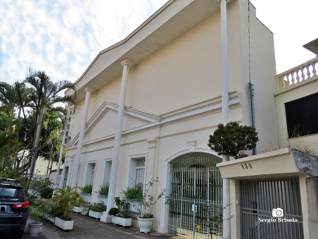 Vista ampla do Templo Ramakrishna Vedanta Ashrama SP - Vila Clementino - São Paulo