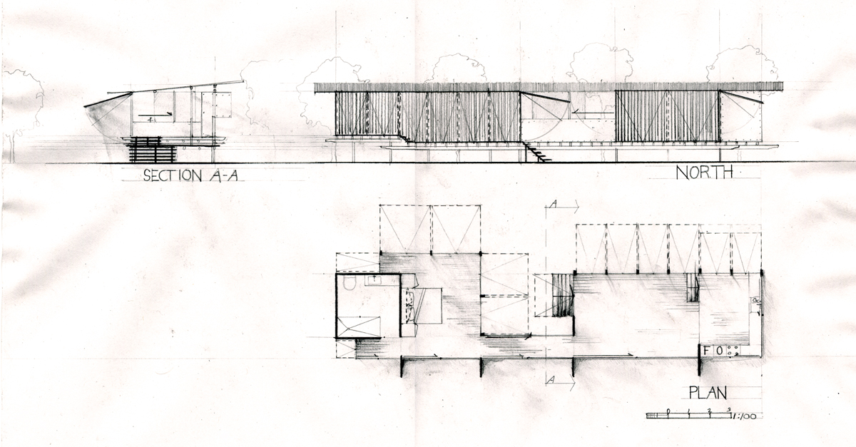 DAB310 Project 1: Proposed Cabin for Glenn Murcutt