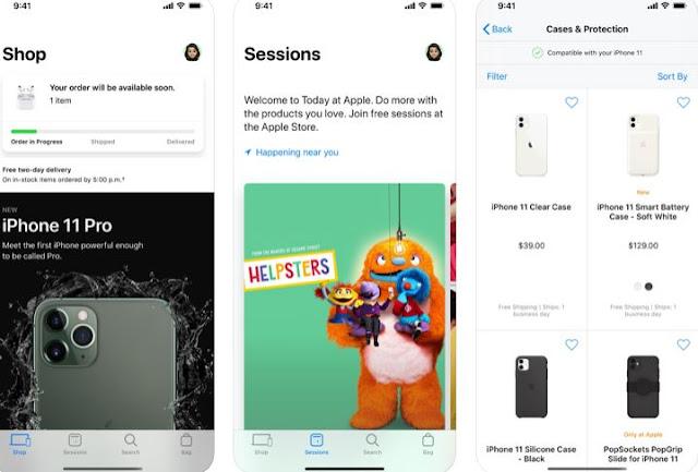 تحديث جديد يُعيد تصميم تطبيق Apple Store بتجربة تسوق جديدة