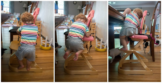 Reasons I love Montessori friendly highchairs with my baby and toddler