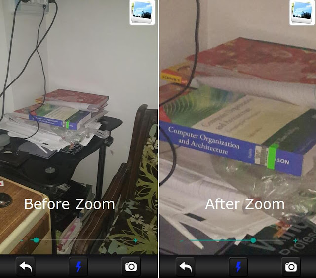 Brightest LED Flashlight App for Android Magnifying Feature