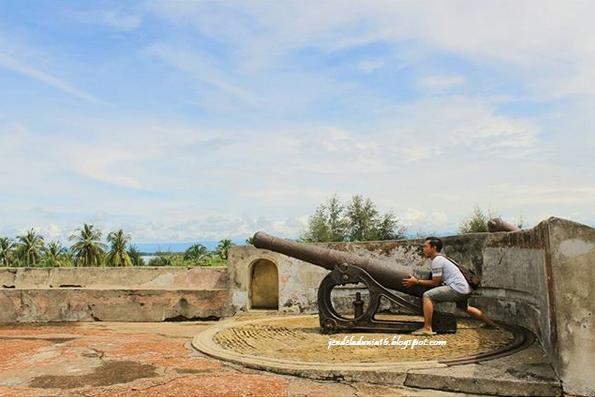 Benteng Malborough, Wisata Situs Peninggalan Sejarah Kolonial Belanda/Inggris Di Kota Bengkulu
