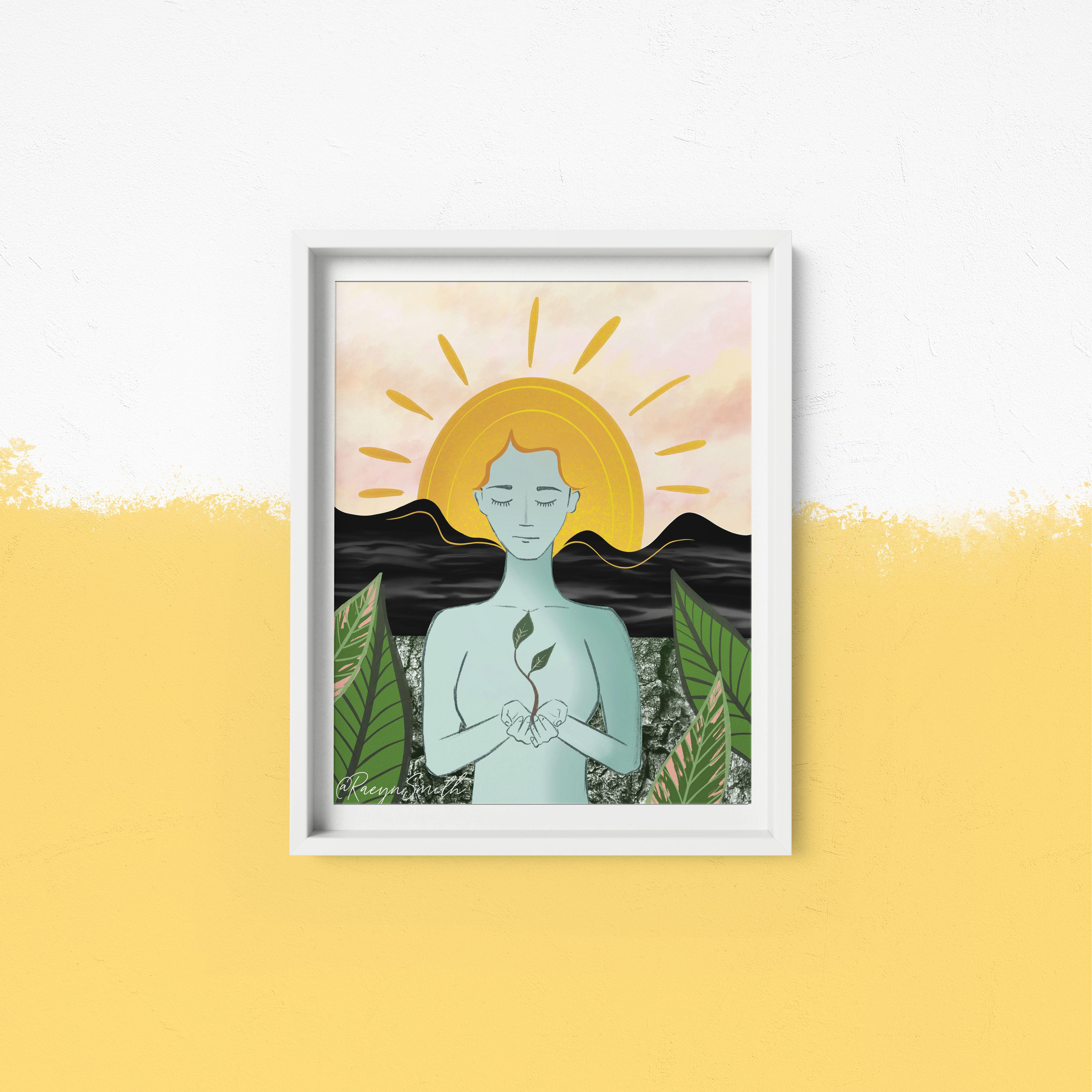 Sun + Earth Mediation by Raeyn Smith
