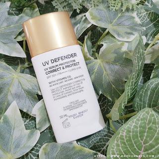 Review L'Oreal Paris UV Defender Daily UV Serum Protector Correct and Protect