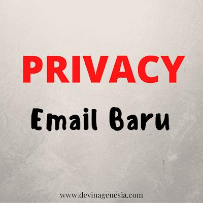 Privacy email baru