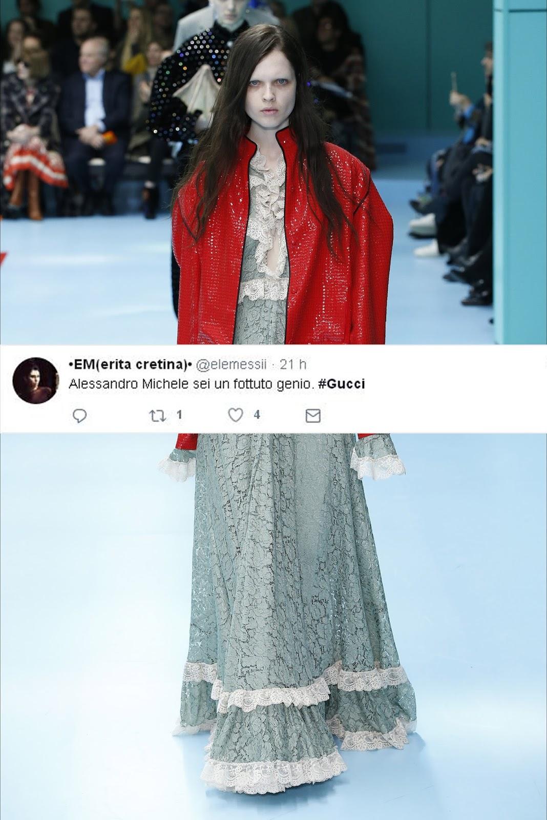 Gucci si o Gucci no - FW1819 - MFW