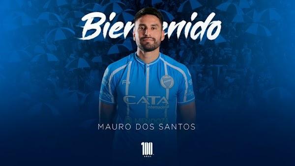 Oficial: Godoy Cruz, firma Mauro Dos Santos