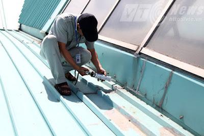 thi công mái tôn tại quận Ba Đình