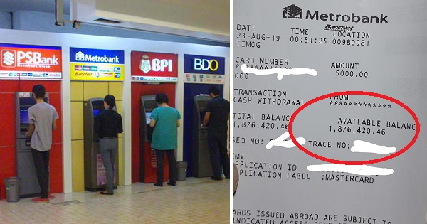 Netizen's 'hampaslupa' post goes viral after seeing account balance of previous ATM user