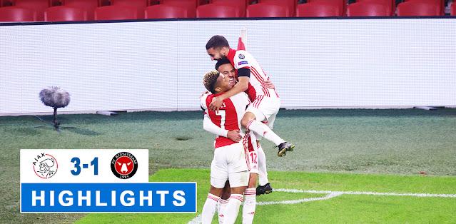 Ajax vs Midtjylland – Highlights