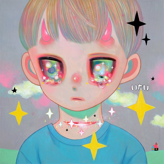 "obras de arte, pintura, pop art inspiration, cool pictures, imagenes chidas | ""Whereabouts of God #31"" by Hikari Shimoda"