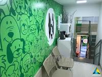 projeto arquitetura petway pet shop espera clínica