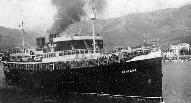 Encuentran al buque sanitario Armenia