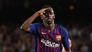 برشلونة يوافق على إنتقال ديمبلي إلى ليفربول مقابل شرط واحد