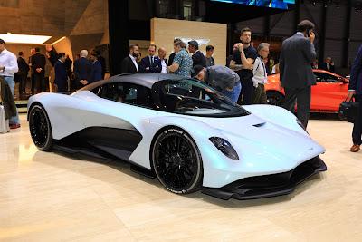 Aston Martin Valhalla di Geneva Motorshow 2019