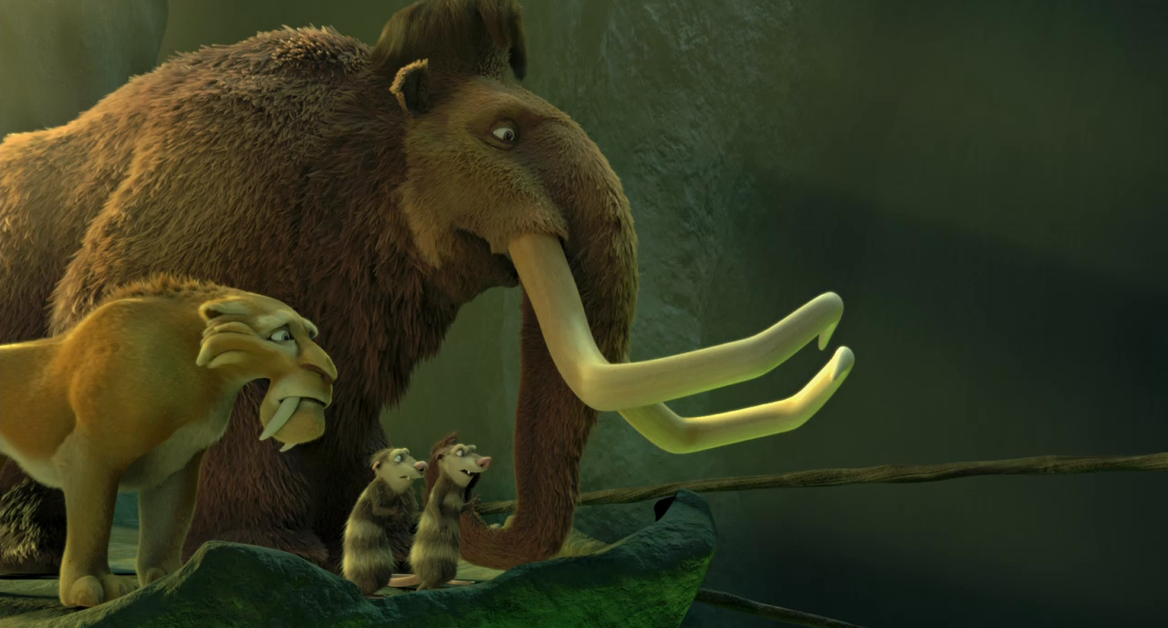 La Era de Hielo 3: El Origen de los Dinosaurios (2009) BRRip 720p Latino - Ingles captura 4