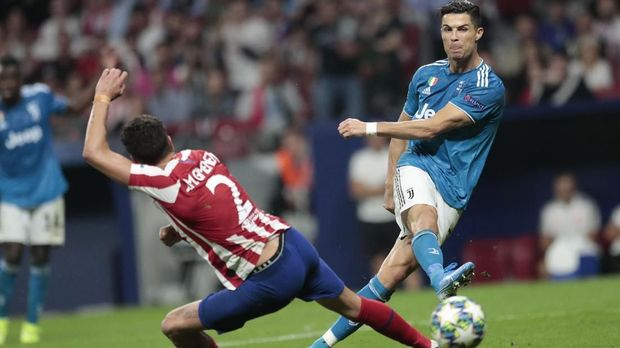 Bintang Sepak Bola Ronaldo Bersama Juventus Gol Ronaldo Menurun 219