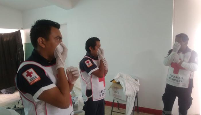 Cruz Roja Mexicana opera Plan Nacional de Biocontingencias vs COVID-19