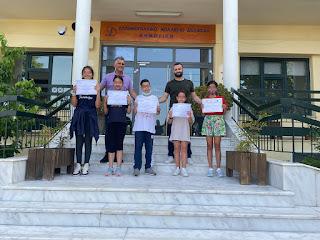 Διακρίσεις στον Πανελλήνιο Διαγωνισμό Γλώσσας «Κλείταρχος και Βερενίκη»