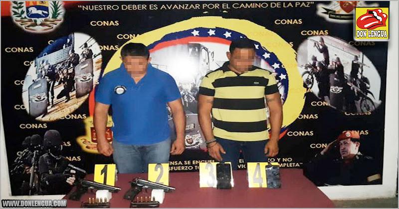 Dos policías de Falcón detenidos por extorsión