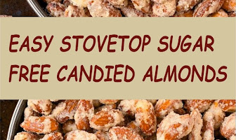 EASY STOVETOP SUGAR FREE CANDIED ALMONDS