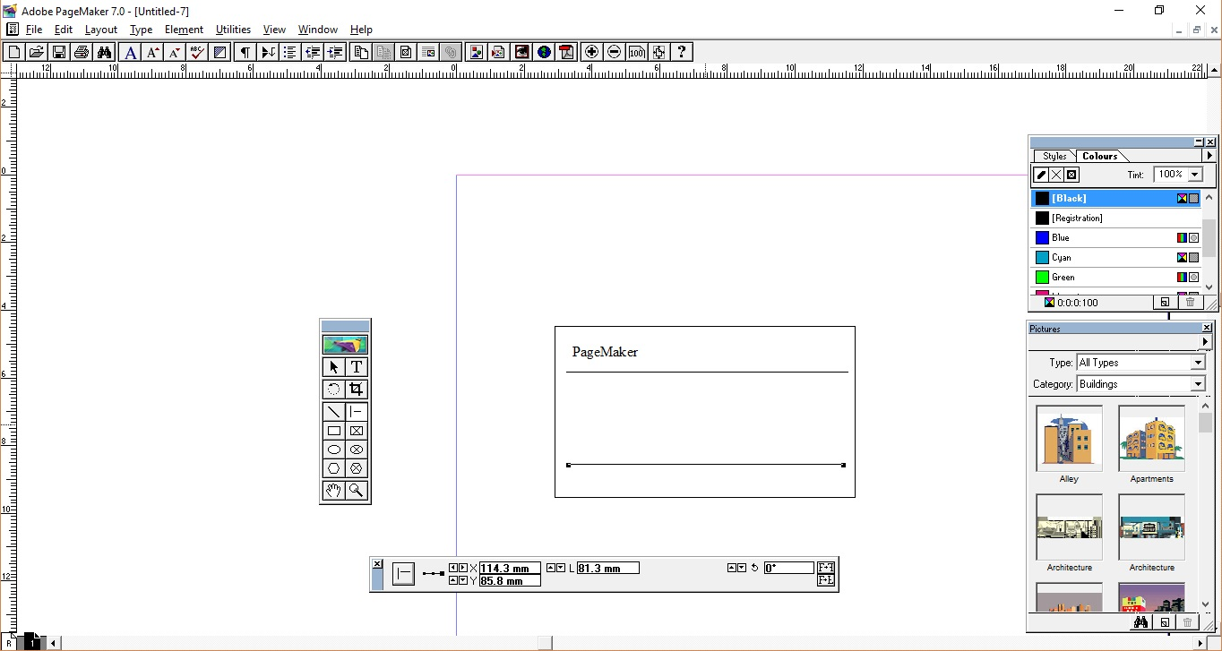 general coding pagemaker making simple visiting card step by step rh generalcodx blogspot com Page Maker 7 Windows 8 Page Maker 7 Windows 8