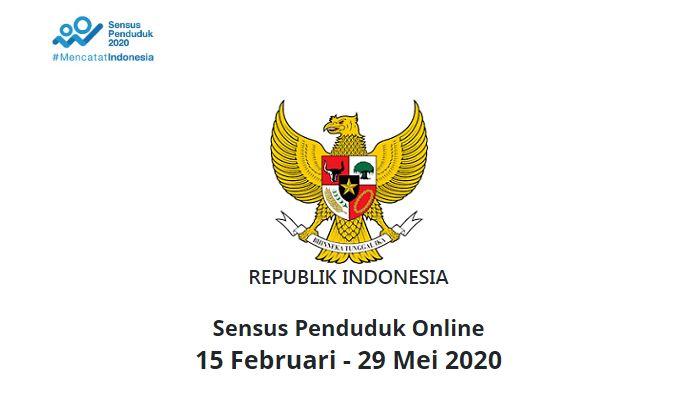 Sensus Penduduk Online sampai 29 Mei 2020 (sensus.bps.go.id)