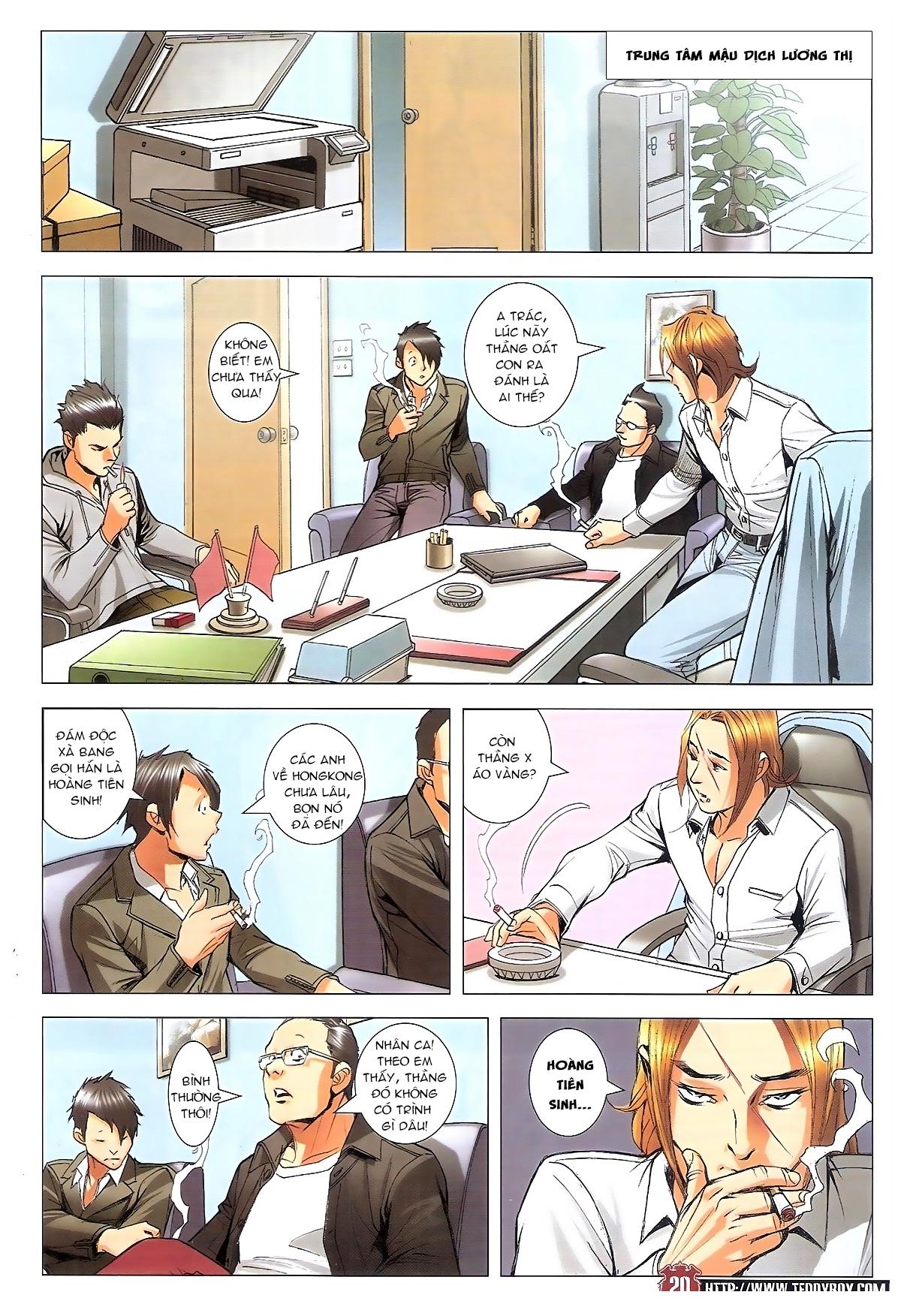 Người Trong Giang Hồ chapter 1795: hoàng tiên sinh trang 19