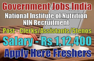 NIN Recruitment 2019