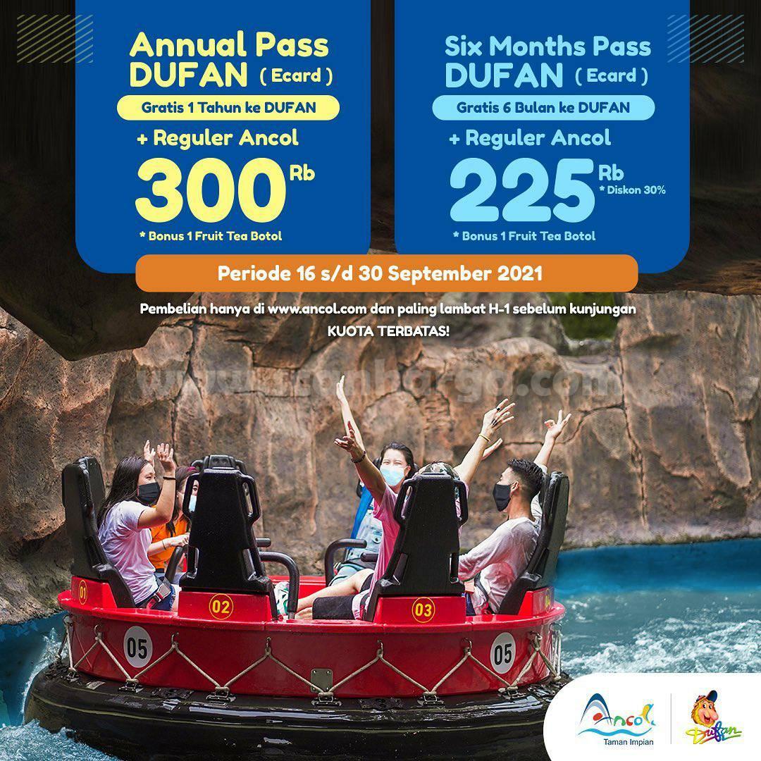 DUFAN Promo Annual Pass - Beli Sekali cuma 300RB Bisa GRATIS Setahun ke Dufan