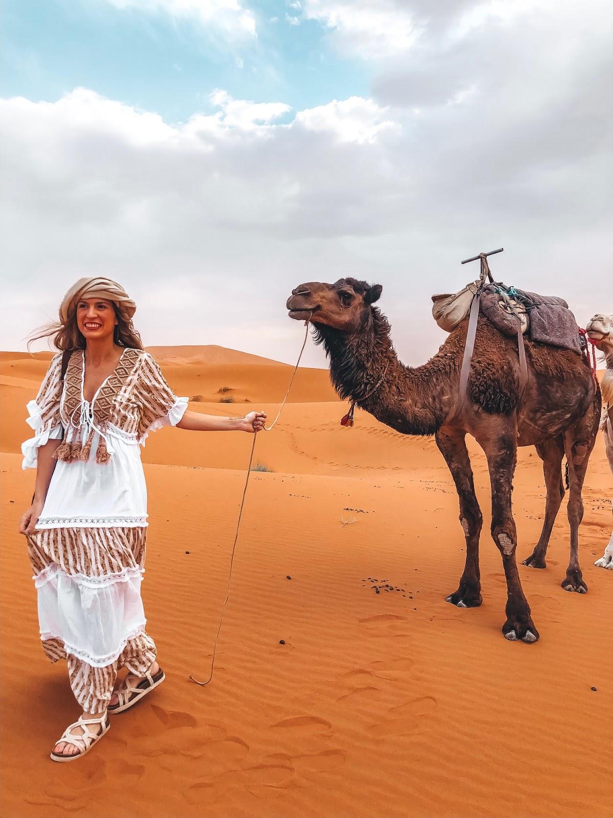 excursión al desierto de Mezouga Marruecos
