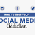 How To Beat Your Social Media Addiction (infographic)