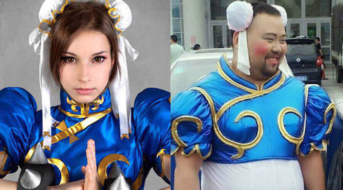 The Best And Worst Cosplay Costumes Ever Made Side By Side Damn