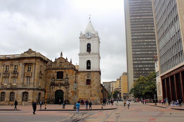 historical centre in Bogota